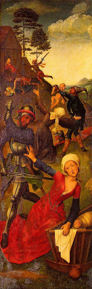 Hugo van der Goes, c1440-1482, Massacre of the Innocents