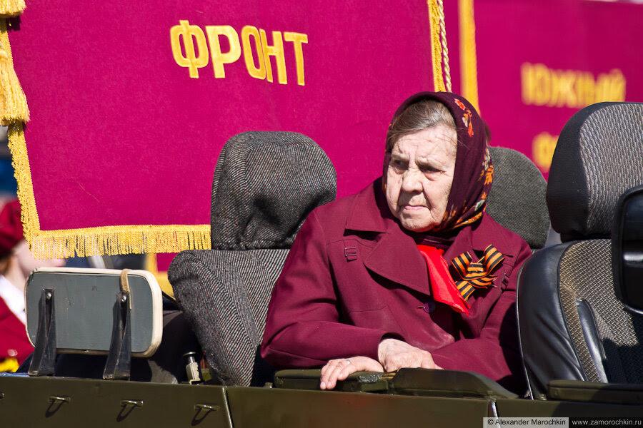 День Победы в Саранске ветеран