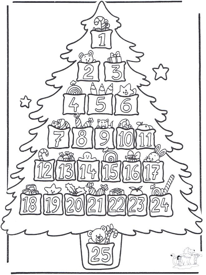 Free Printables and Coloring Pages for Advent - Zephyr Hill