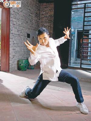 「武術名家」甄子丹致力發揚中國功夫,多年來的貢獻獲肯定。(資料圖片)