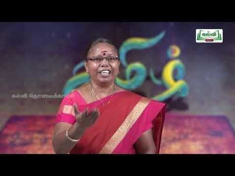 8th Tamil Bridge course இலக்கணம்  சொல் வகைகள்  அலகு 2  Kalvi TV