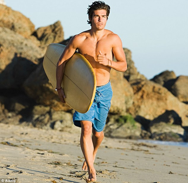 Down Under: While men voted Brazil their sexiest country, women opted for Australia, know for its attractive surfer types
