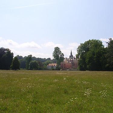 Neues Schloss Bad Muskau Fernansicht