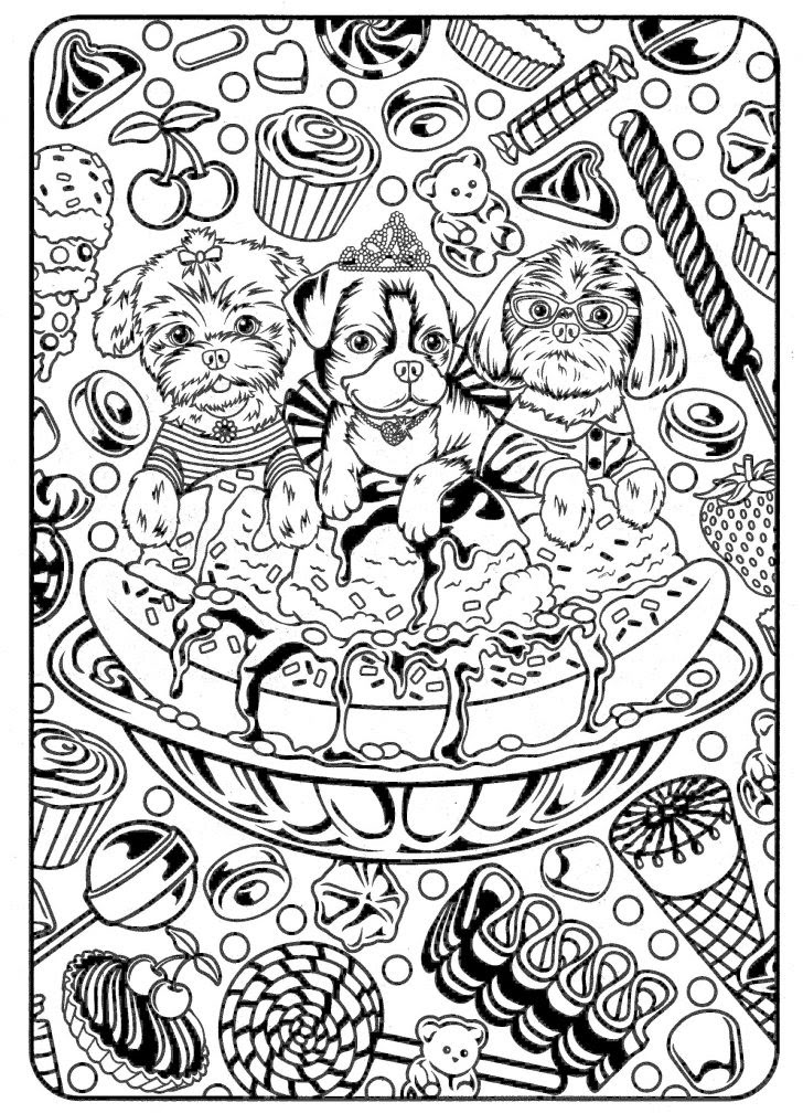 Free Coloring Pages For Adults To Color Online - Coloring And Drawing