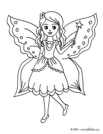 650 Colouring Pages Of Cute Fairies Download Free Images