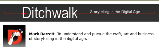 mark barrett ditchwalk self-publishing storytelling