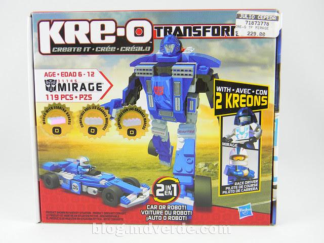 Transformers Mirage Kre-O - caja