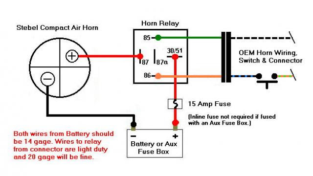 Air Horn Wiring Diagram - Wiring Diagram Networks | Wolo Air Horn Wiring Diagram |  | Wiring Diagram Networks - blogger