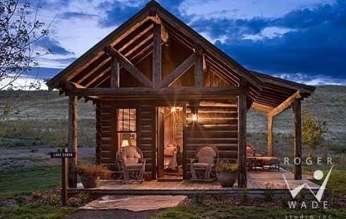 Small Log Cabin Favethingcom