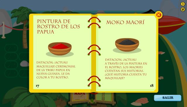 Páginas 17-18 de la Isla