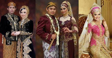 kumpulan gambar pernikahan adat jawa modern muslim terbaru