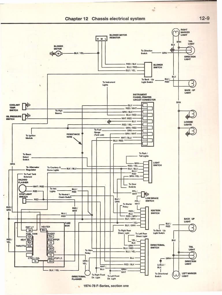 1979 Ford Truck Starter Wiring Diagram
