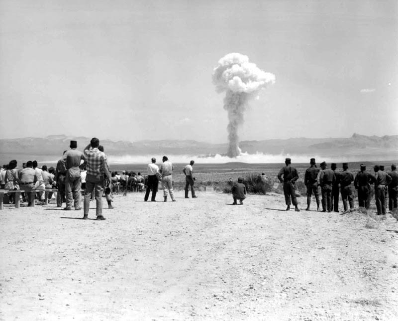 Atomic Testing Photograph