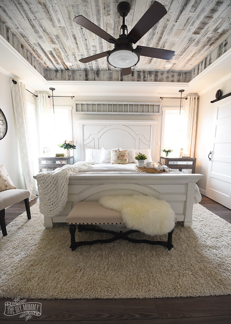 Our Modern French Country Master Bedroom - One Room ...