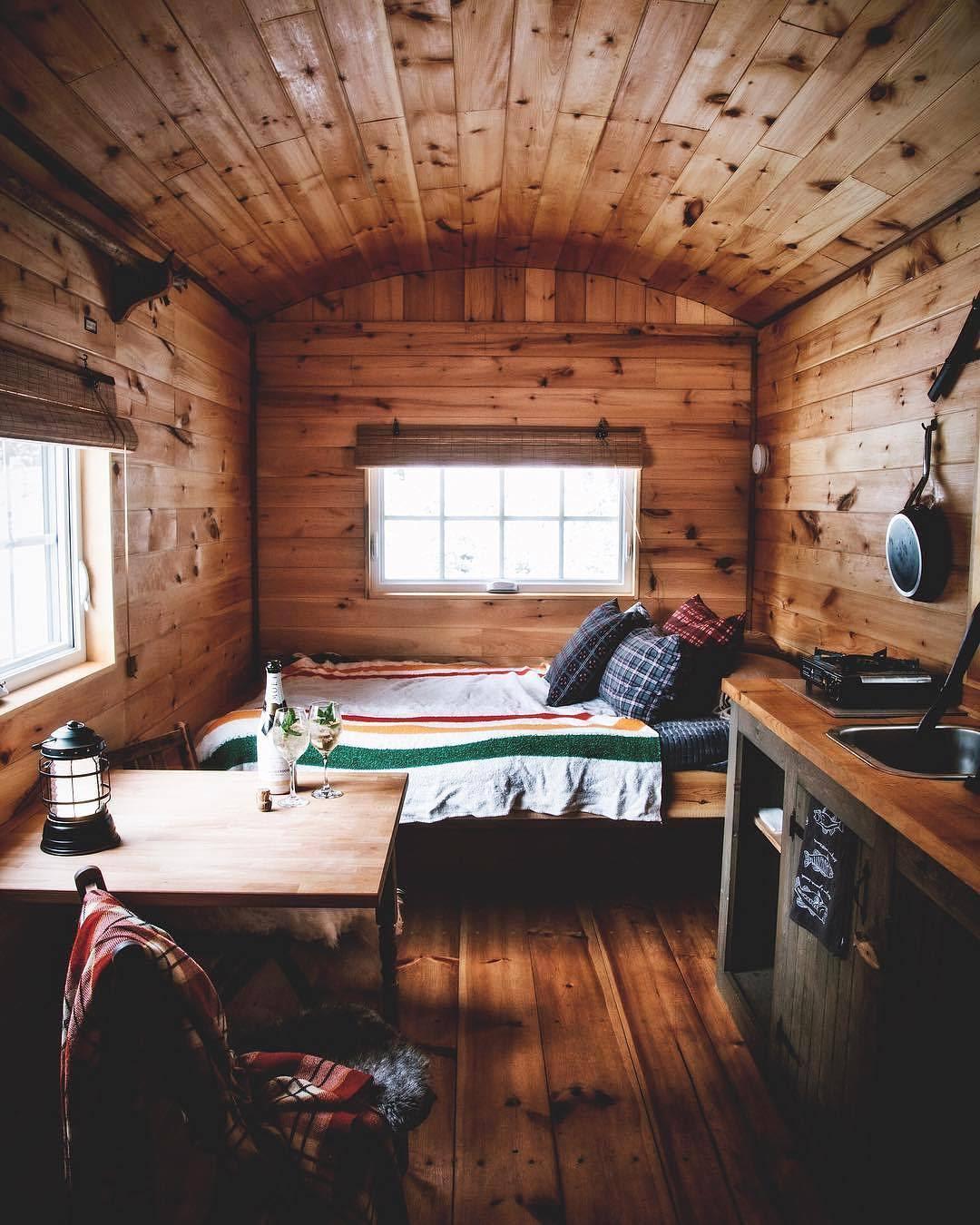 Cozy tiny house in Quebec : CozyPlaces