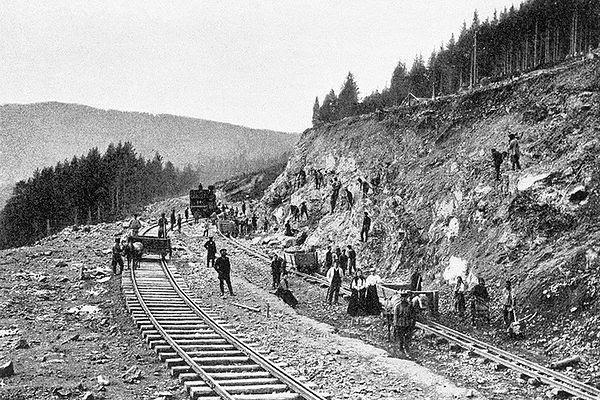 Градња Транссибирске железнице