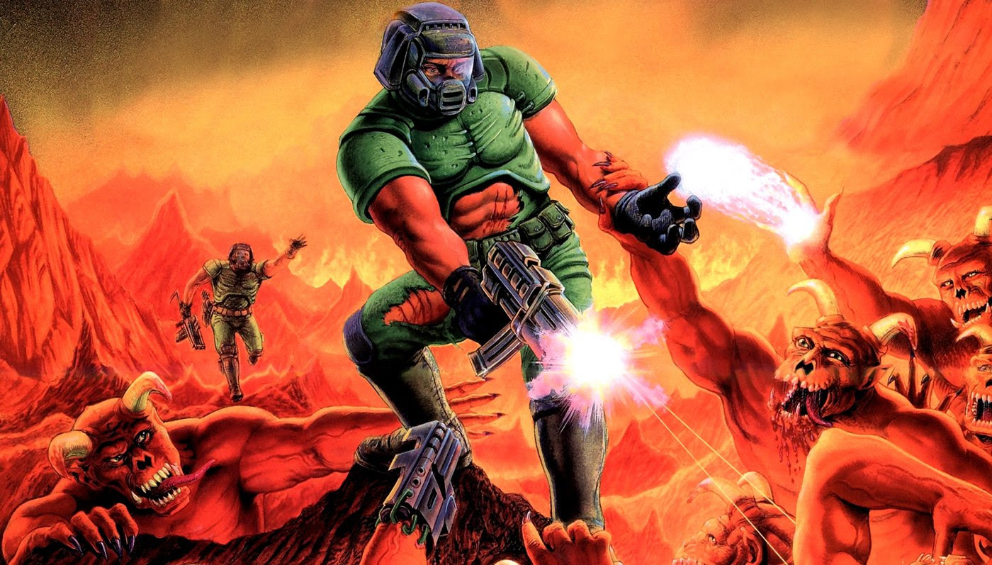Who was Doomguy? John Romero has a funny story about that screenshot