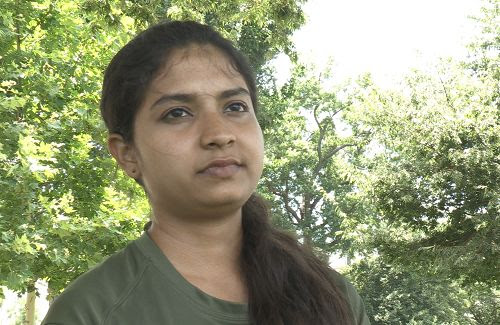 图:印度大学生艾西瓦娅塞