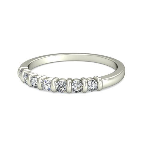 Round Diamond Wedding Band for Her on Sale   JeenJewels