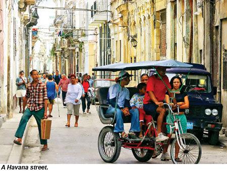 A Havana street.