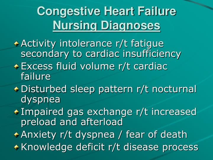 PPT - Congestive Heart Failure Case Study PowerPoint ...