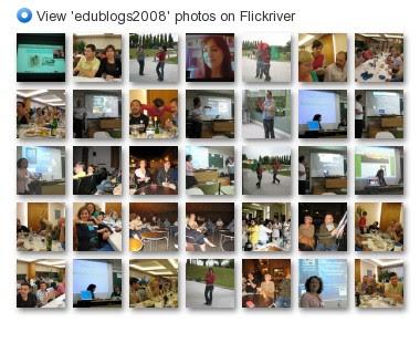 View 'edublogs2008' photos on Flickriver