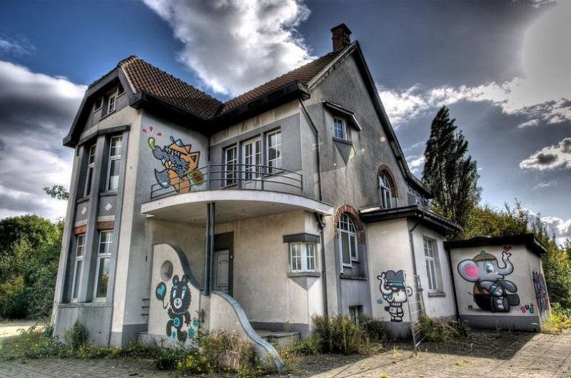 A vila condenada de Doel e sua arte de rua surpreendente 18