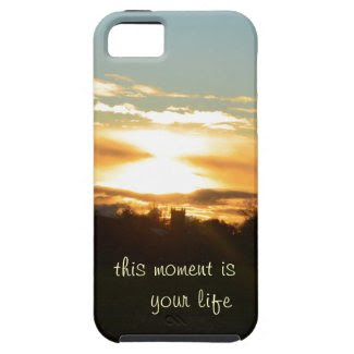 Iphone 5 Case with Life Quote