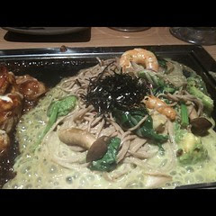avocado yaki soba @ kyochabana #osaka #japan