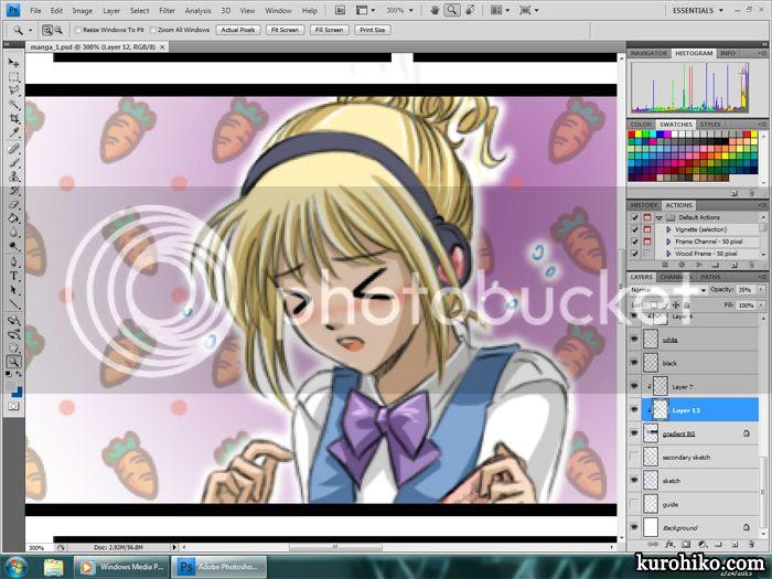 work in progress 2013.02.22 - katrina sneezing