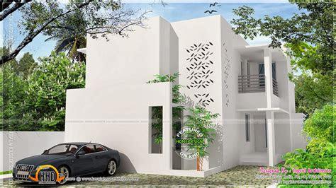 simple contemporary modern house kerala home design
