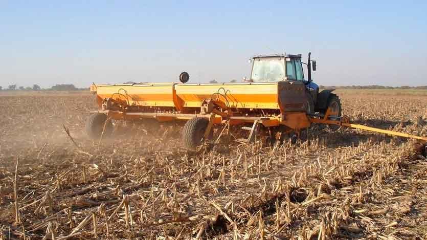 Máquinas sembradoras de granos y de otros cultivos