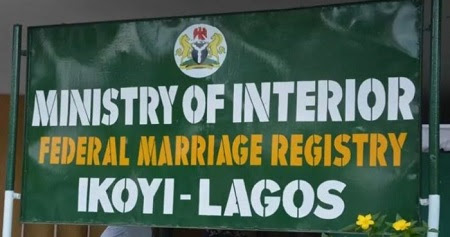 Image result for Popular Ikoyi Registry Can No Longer Conduct Marriages In Lagos - Court