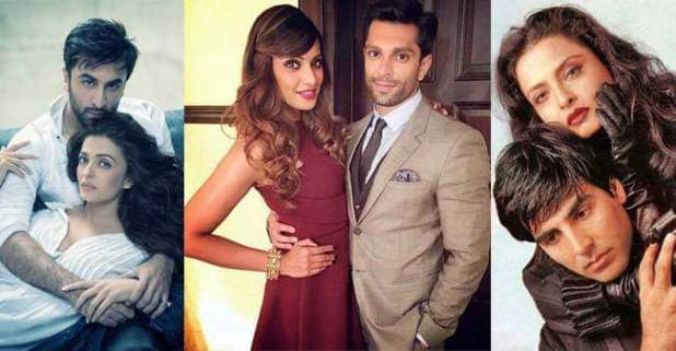 Famous Bollywood Actors who Romanced Older Actresses On-Screen