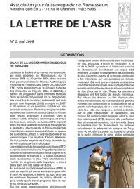 Lettre asr 5 mai 2009 1