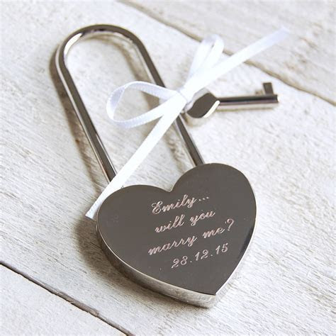 personalised love lock by highland angel