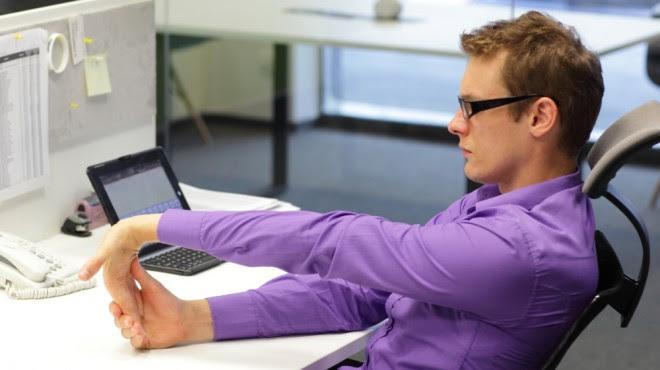 desk exercises deskercise