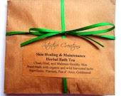 Skin Healing Herbal Bath Tea Soak