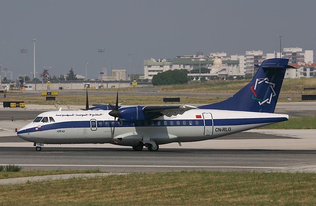 A Regional Air Lines ATR42