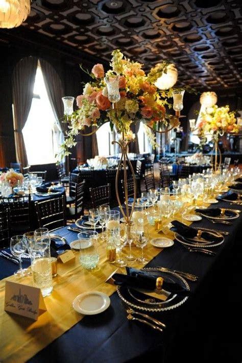 Navy and Gold   Regal Nautical   weddingomania