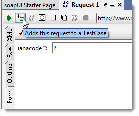 Add This Request to TestCase