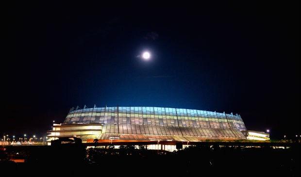 Feia? Arena Pernambuco não agradou aos americanos (Foto: Getty Images)