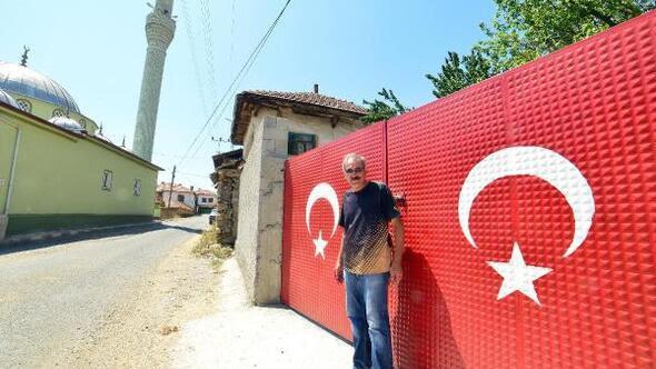 Yozgat Haberleri Bu Köyde Her Evin Duvar Ve Kapısı Türk Bayrağı