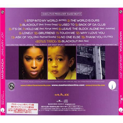 january joy mashonda mp buy full tracklist