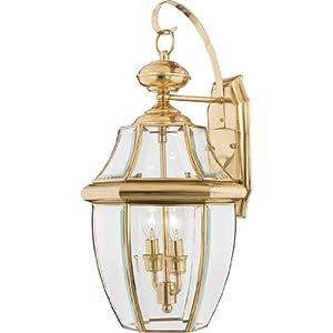 Amazon.com: Quoizel NY8317B Newbury 2-Light Outdoor Wall Lantern