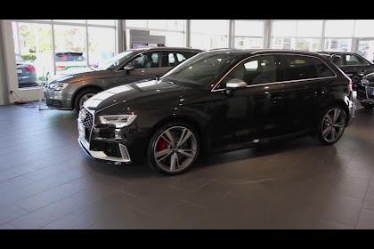 2019 Audi Rs3 Sportback Black