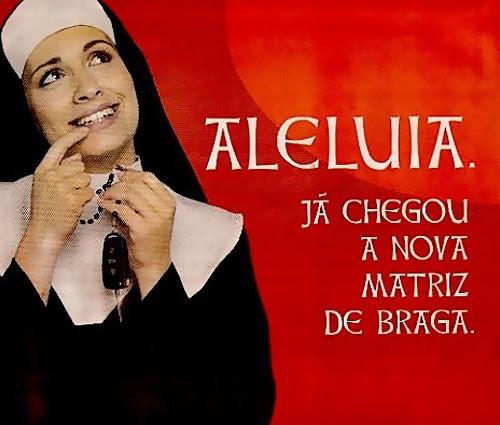 Publicidade da Matriz Auto - Braga