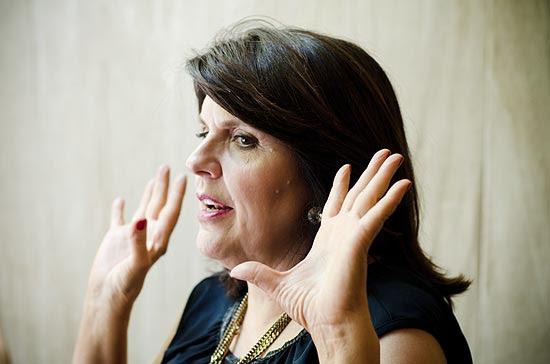 A astróloga americana Susan Miller fala sobre as previsões para 2013 em evento em São Paulo