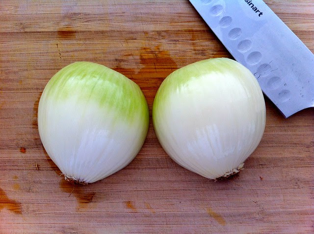 Large Yellow Onion, Halved