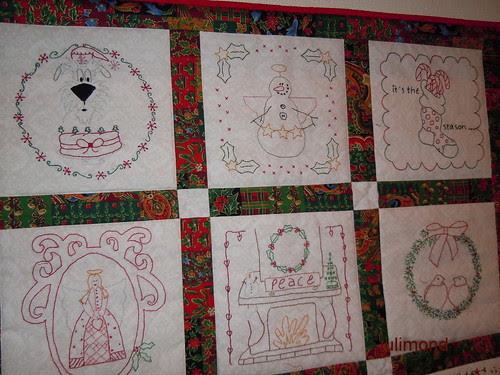 Stitching for Christmas Ausschnitt